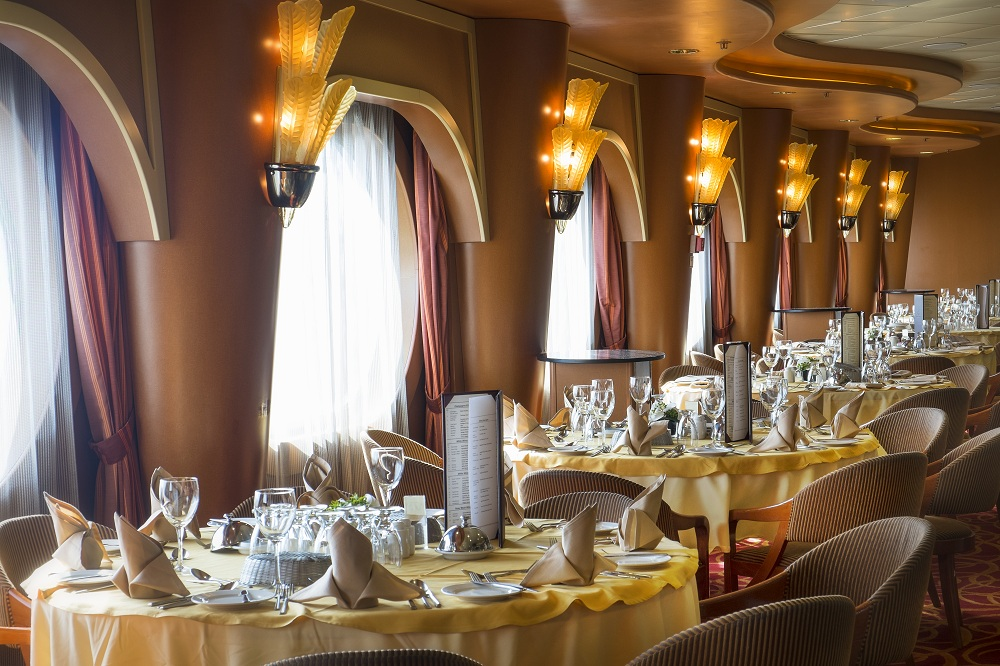 Fine Dining on board the Grand Classica